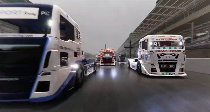 Truck Racing Championship Powers to America