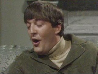 A picture of Stephen Fry from the series A Bit of Fry and Laurie.