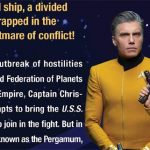 Captain Pike Shines in The Enterprise War