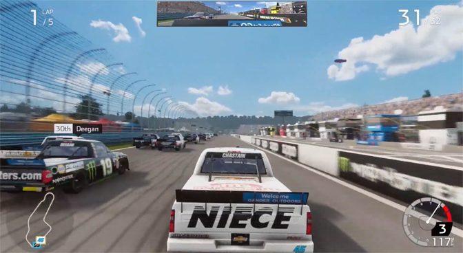NASCAR Heat 4 Adding Gander Trucks to Developing Game