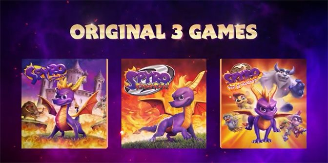 Spyro Reignited Trilogy Coming to Nintendo Switch and PC