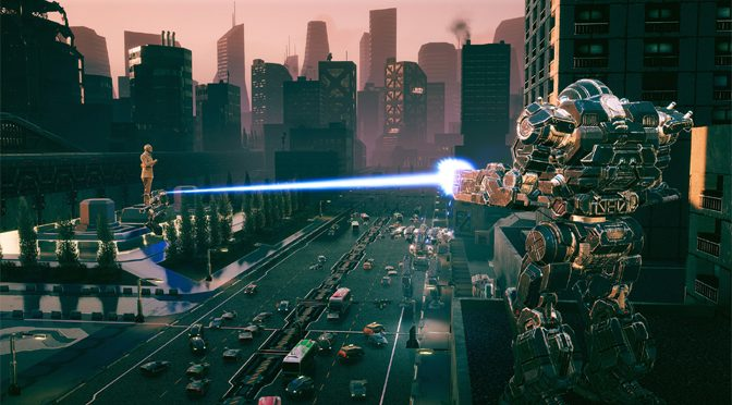 BATTLETECH Urban Warfare Takes The Fighting Downtown