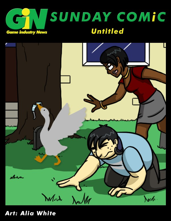 Untitled Goose Game Comic