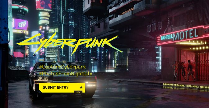 Official Cyberpunk 2077 Photo Contest Begins