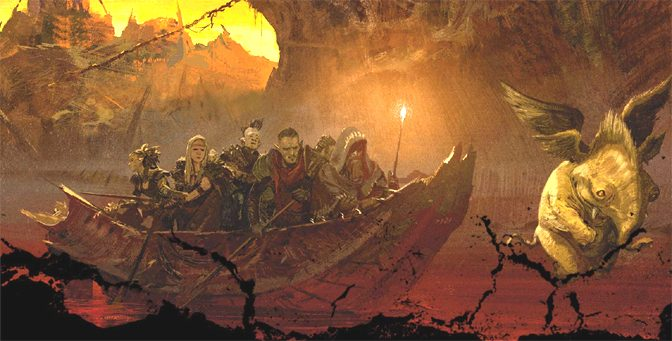 Heavenly Adventuring through Hell with Descent into Avernus
