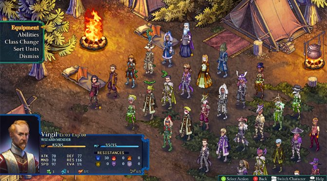 Turn Based RPG Awesomeness with Fell Seal: Arbiter's Mark