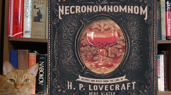 Succulent Scariness With HP Lovecraft Necronomicon Cookbook