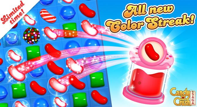 Candy Crush Celebrating National Candy Day