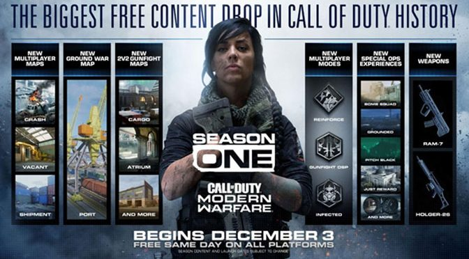 Call of Duty Reveals Free Content and Season Roadmap