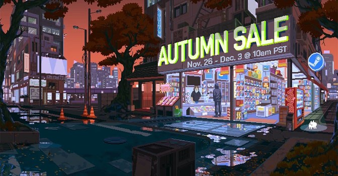 Steam Launches Mega Autumn Sale on 13,000 Games, Begins Award Nominations