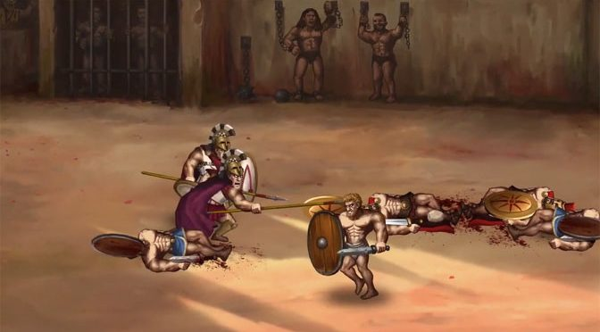 Story of a Gladiator Arena Combat Game Releases Soon