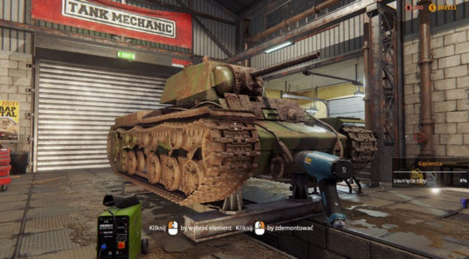 Tank Mechanic Simulator Preparing For Deployment
