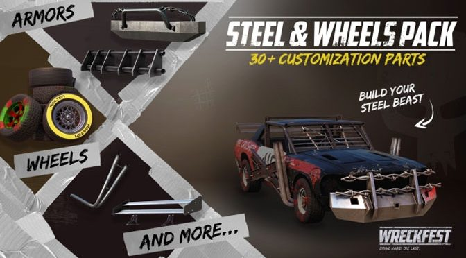 Wreckfest Steel And Wheels DLC Rolls Out