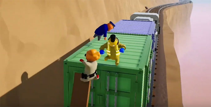 Crazy Party Game Gang Beasts Punches to More Platforms