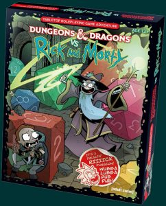 Rick and Morty take on Dungeons and Dragons