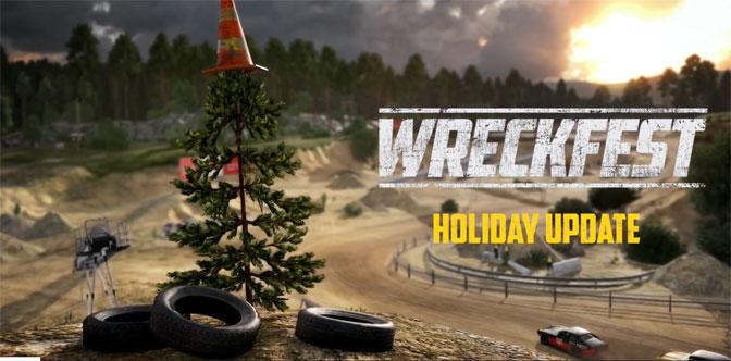 Wreckfest Gets Wacky Holiday Update