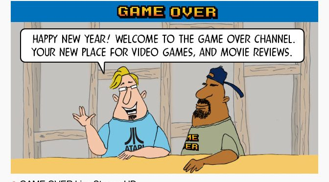 Welcome to the New Game Over GiN Sunday Comic!