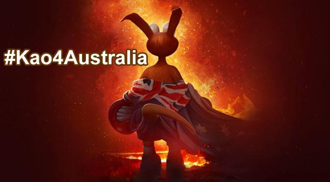 Developer Donating Profits from Kao Kangaroo Game to Australian Wildfire Rescue