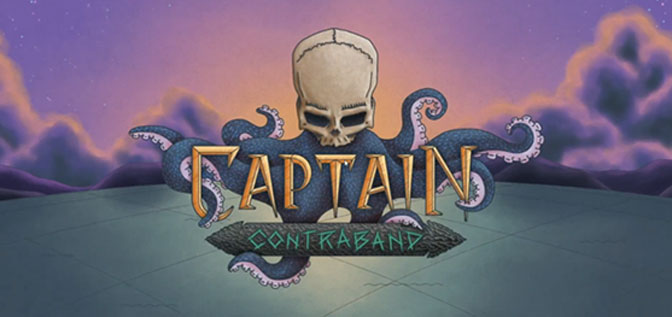 Cartography-inspired Roguelike Captain Contraband Sails for Steam