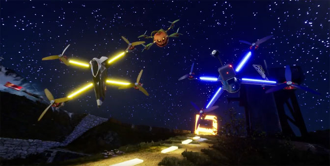 Drone-Based Gaming Taking Off This Month