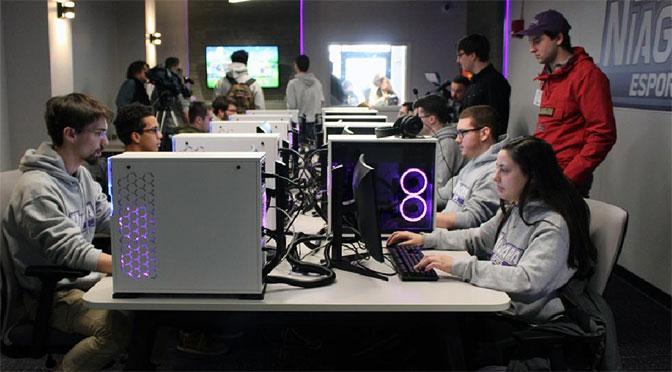 Niagara University Opens The Nest Esports Gaming Facility