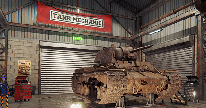 Fixing up History in Tank Mechanic Simulator