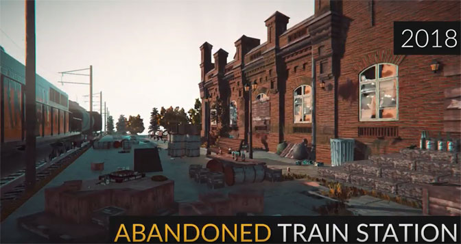 Train Station Renovation Chugs Closer to Steam Release