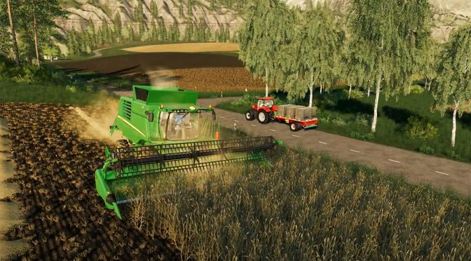 Farming Simulator 19 Adds Straw Harvest DLC and Equipment