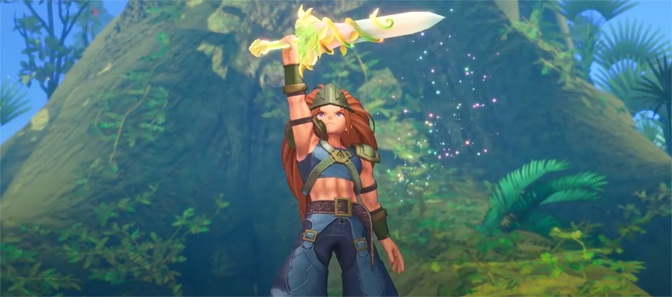 Trials of Mana High Def Remake Now Available