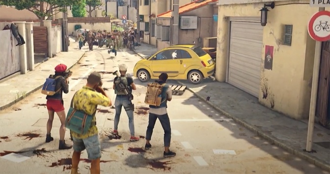 Zombie Shooter World War Z Adds New France Missions