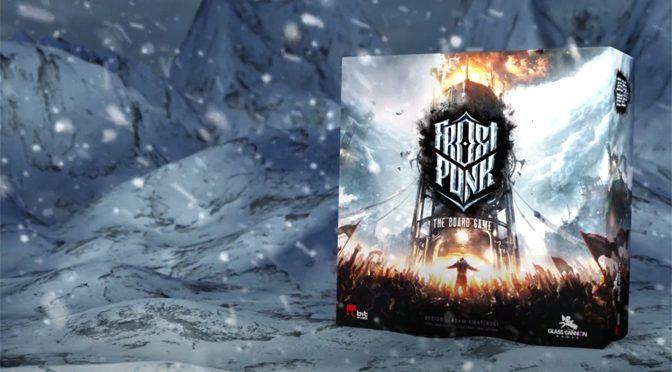 GOTY Frostpunk Getting Board Game