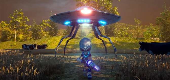 Destroy All Humans Shows Off Accolades Trailer