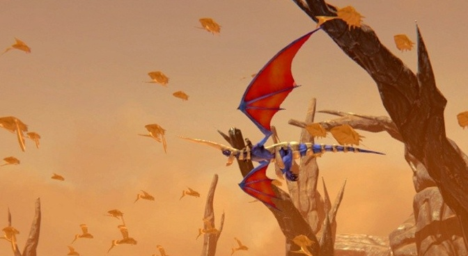 Chasing The Dragon Again in Panzer Dragoon Remake