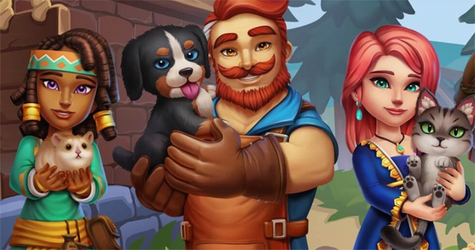 Checking Out the New Shop Titans One Year Pet Anniversary