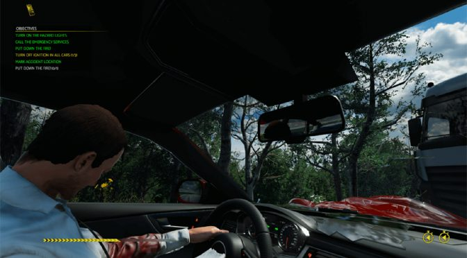 Car Crash Investigation Game Accident Smashes to Steam
