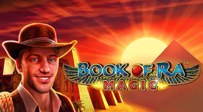The New Slot Machine Book of Ra Magic Novomatic Launches