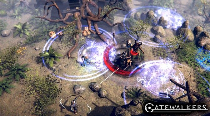 Gatewalkers Co-Op Action RPG Slashing to Consoles