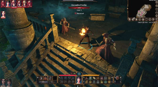 Larian Creates Heat Map of Player Deaths for Baldur's Gate 3 Early Access