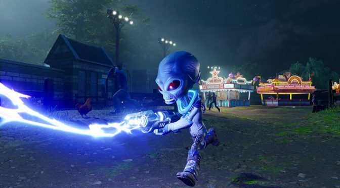 Patricide, Matricide and Amicicide into High Scores in Destroy All Humans