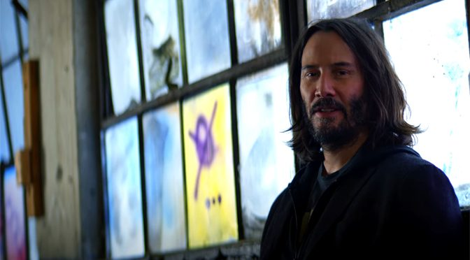Keanu Reeves Introduces New Cyberpunk 2077 No Limits Trailer
