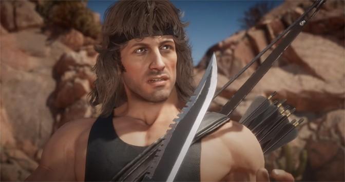 Rambo Joins Mortal Kombat 11 Cast