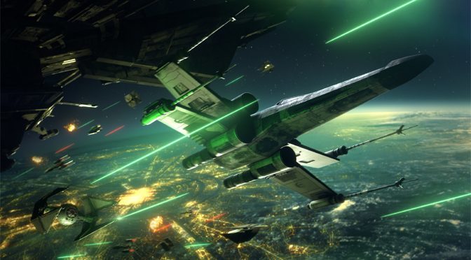 Epic Starfighter Combat Launches in Star Wars Squadrons