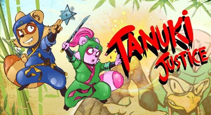 Tanuki Ninjas Save The Day in Tanuki Justice