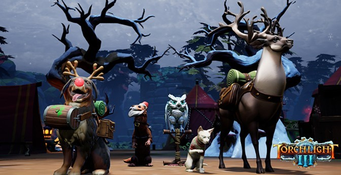 Torchlight III Adds Seasonal and Holiday Winter Content