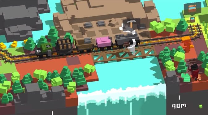 Minecraft and Lego Meet Railroad Tycoon in Clever Unrailed