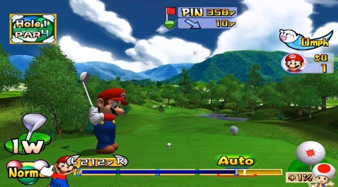 Retro Game Friday: Mario Golf Toadstool Tour