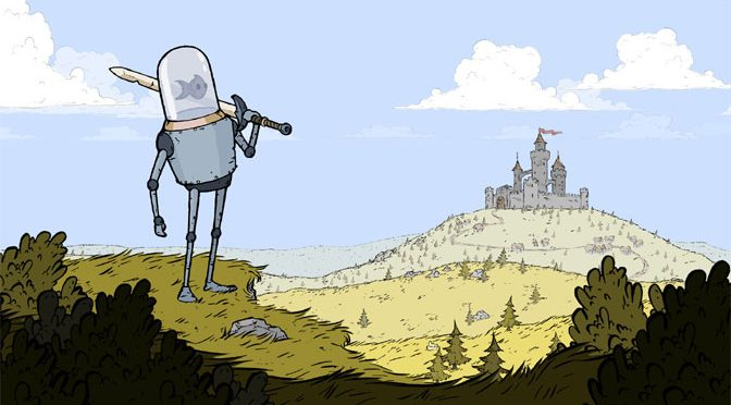 Be the Robot Hero in Feudal Alloy