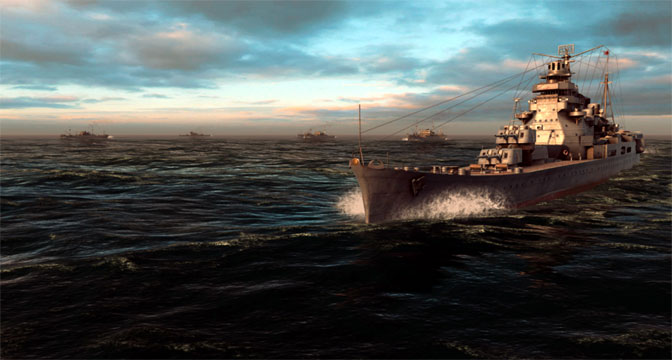 Floating a new WWII Naval Combat Sim in War on the Sea