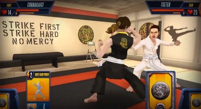 Cobra Kai: Card Fighter Nears Mobile Release