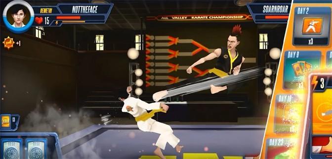 Everybody is Karate Card Fighting